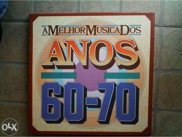 Coleçao de musica dos anos 60 e 70 vinil