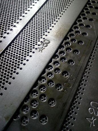 Решета к дробилкам ДКУ,КДУ,ДДП,КД Толщина 1; 1.5;2.0;3.0 мм