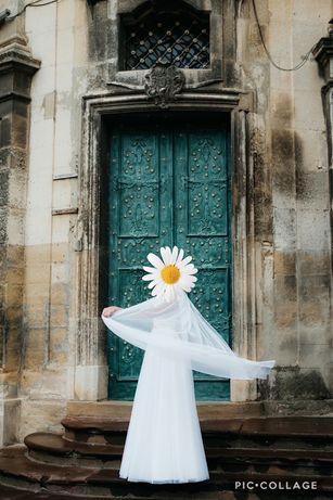 Весільна сукня. Весільне плаття. Невінчане!