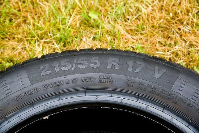 Opony letnie Continental 215/55R17