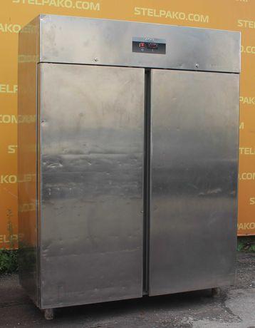 Холодильный глухой шкаф из н/ж, «Sagi HD 150», объем 1400 л, Б/у 25136