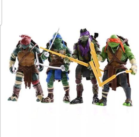 Conjunto 4 pcs Tartarugas Ninja (Portes Incluidos)