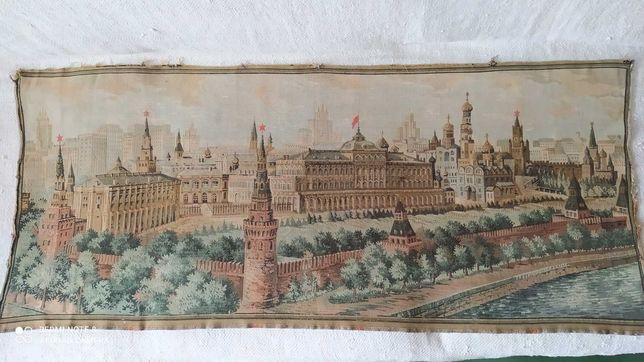 Гобелен СССР Красная площадь прошлый век
