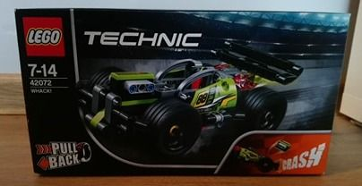 Lego 42072 Technic Zielona Wyścigówka