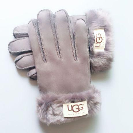 272 Rękawiczki damskie ocieplane wełną z merynosów marki UGG