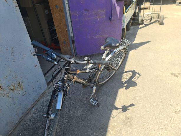 Велосипед алюминевая  рама