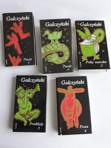 Konstanty Ildefons Gałczyński; Dzieła w pięciu tomach