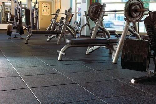 WYPRZEDAŻ maty gumowe fitness siłownia SBR 101x101x30