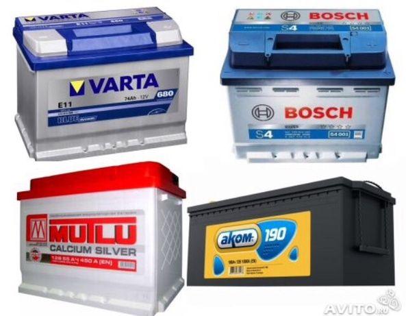 Продам новые аккумуляторы всех видов и размеров от 1800руб.