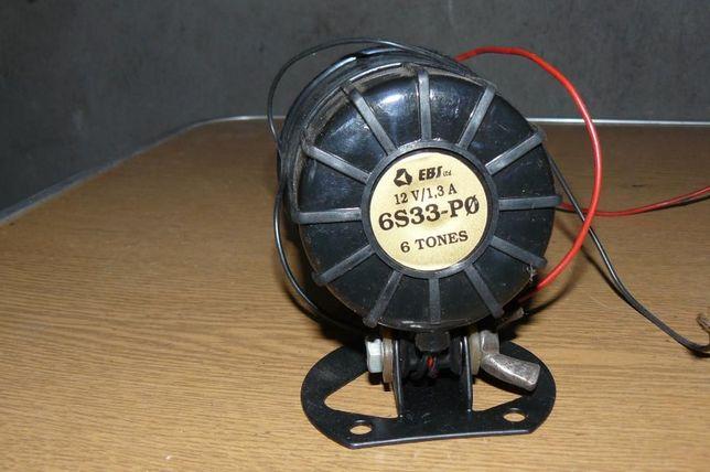Głośna syrena na 12 volt 6 tonów