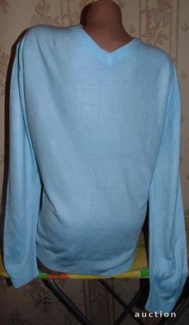 Мужской свитер,кофта 52-54р(сост.нового),акрил 100%