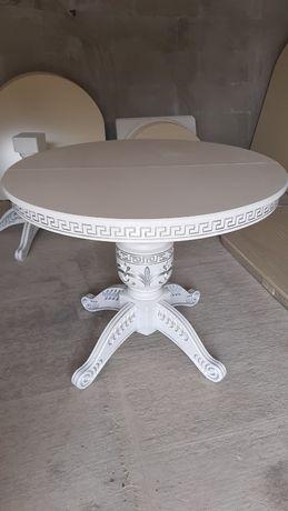 Стіл, столи круглі