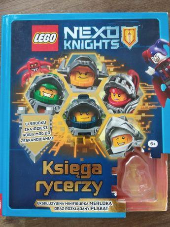 Nexo knights ksiazka lego