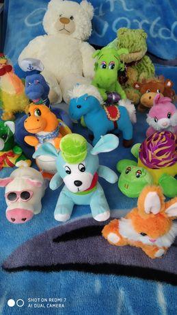Мягкие игрушки разные