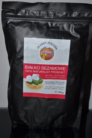 Białko sezamowe bez GMO / glutenu 500g