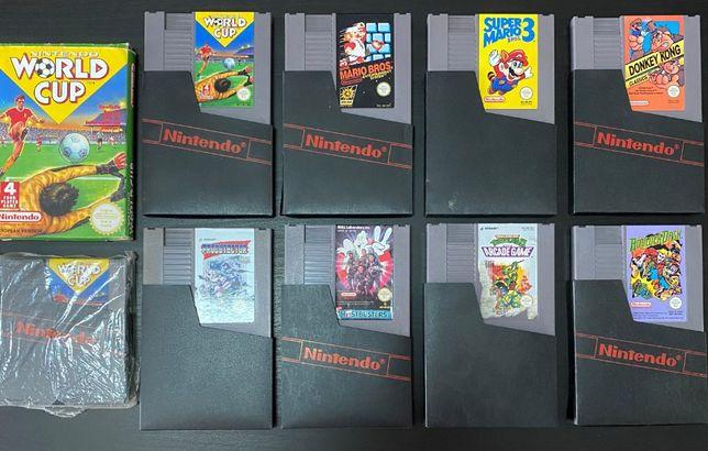 Nintendo NES Jogos Originais PAL