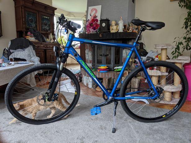 Niemiecki rower Poison na pasek Gates