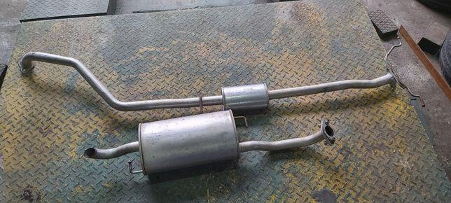 Wydech tłumik środkowy końcowy kpl KIA RIO 1.3 1.5 16v benzyna