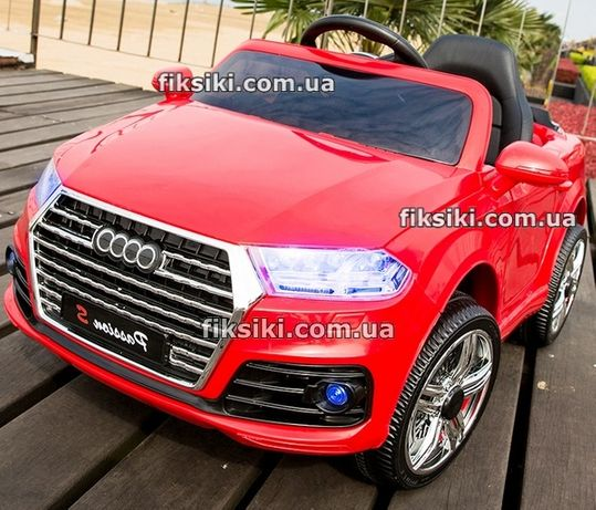 Детский электромобиль Audi 3179 RED, Дитячий електромобiль