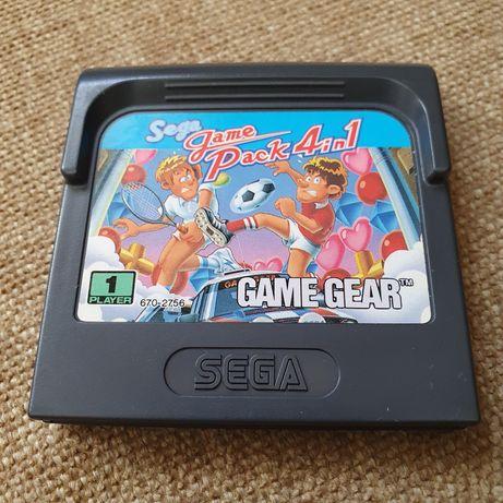 Jogo Sega Game Pack 4in1 - Game Gear