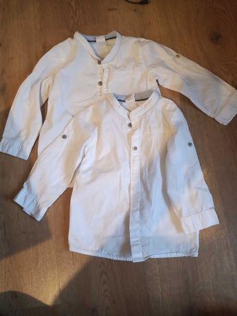 Koszule chłopięce białe H&M