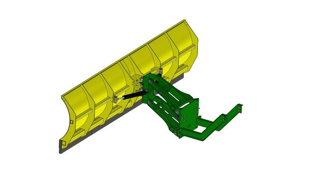 Відвал (отвал) для трактора John Deere 8420