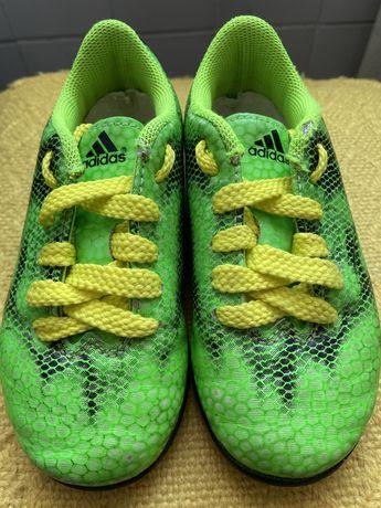 Adidas футбольные бутсы сороконожки футзалки
