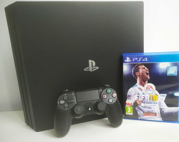 Konsola Sony PlayStation 4 PRO 7116B + Pad + Gratis Gra