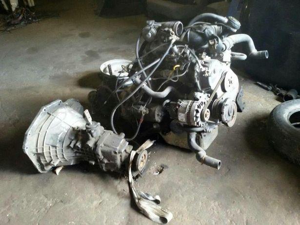 двигатель Форд Транзит 2.0di, 2.4tdci 2.5d, 2.5td, краб с КПП 86-06г