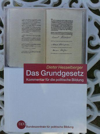 """Sprzedam książkę """"Das Grundgesetz - konstytucja Niemiec z komentarzem"""