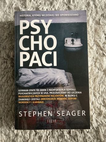 """""""Psychopaci"""" Stephen Seager"""