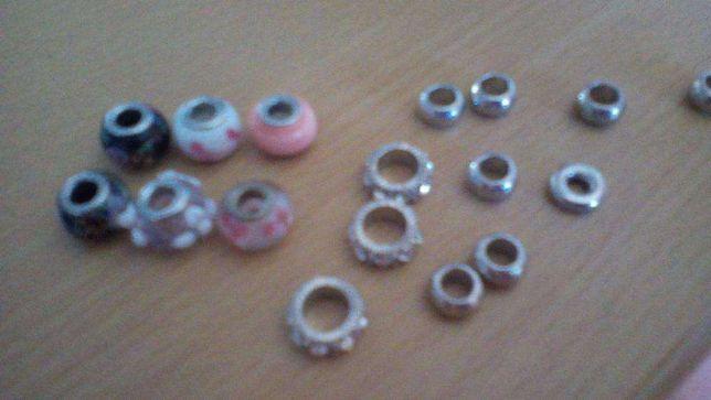 Contas para decorar pulseira