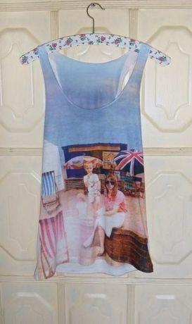 Bokserka koszulka England Anglia Atmosphere 36,S / 38,M people