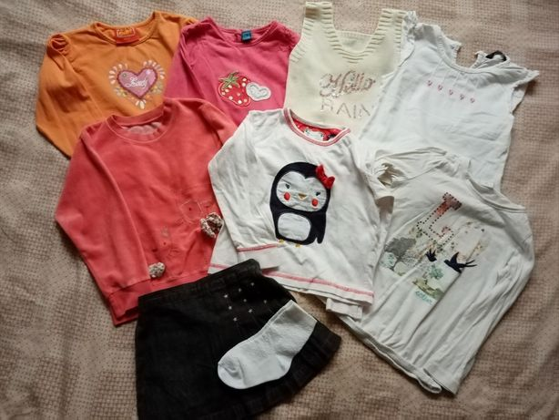 Вещи на девочку 2-3 года(кофты,жилетка)