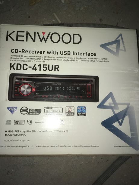Auto Rádio kenwood kdc-515ur