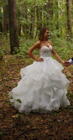 Suknia ślubna rozmiar 36/38 - Amy love - model Nikko