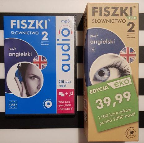 FISZKI EKO angielski słownictwo 2 + audio mp3 A2