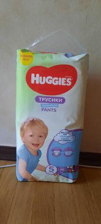 Подгузники huggies pants 5 для мальчика