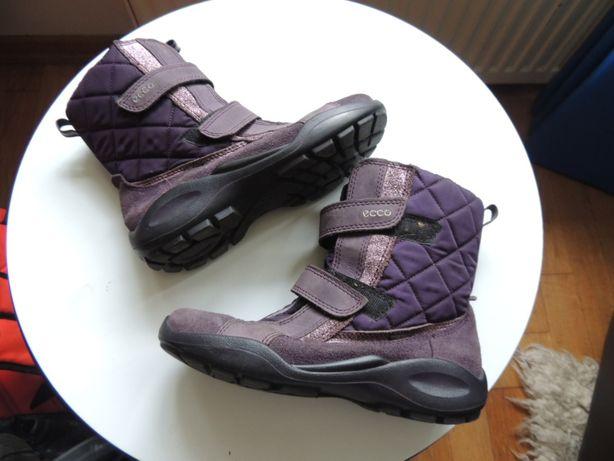 ECCO buty kozaki rozm 35 fiolet