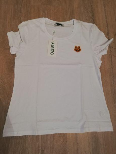 Biała koszulka Kenzo rozmiar XL