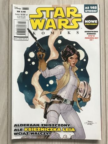 KOMIKS STAR WARS Alderaan zniszczony ale księżniczka Leia wciąż żyje