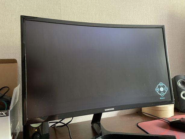 Monitor Samsung 144hz zakrzywiany ekran