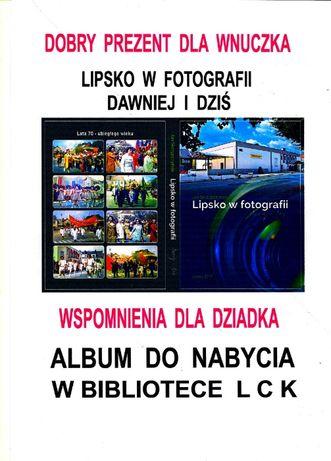 """Album fotograficzny """"Lipsko dawniej i dziś"""" -w twardej oprawie."""
