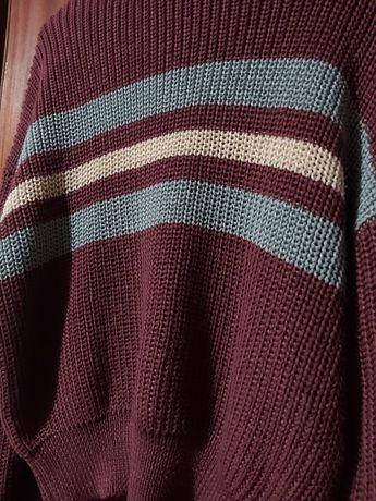 Camisola de lã da Pull&Bear tamanho L