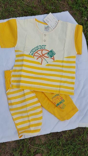komplet chłopięcy piżama różne rozmiary