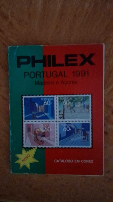 Catálogo Selos Philex 1991