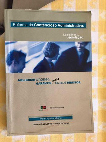 Livro Reforma do Contencioso Administrativo