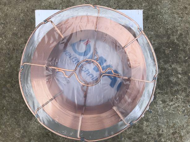 Дріт зварювальний проволока сварочная 1мм ROWAC 15кг HOLAND Proresiona