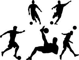 Drużyny piłkarskiej lub facetów, którzy będą grać w piłkę nożną