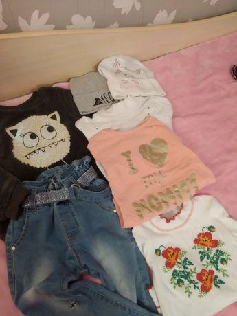 Пакет вещей на девочку 4-5 года